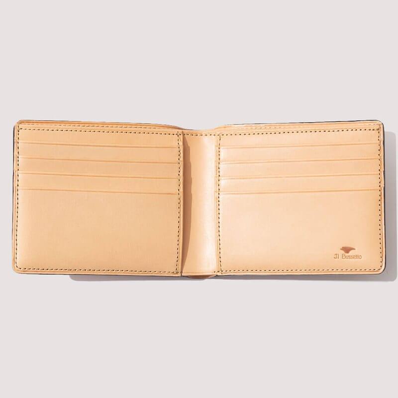 <Regular Bi-Fold Wallet - Coral Red (8)