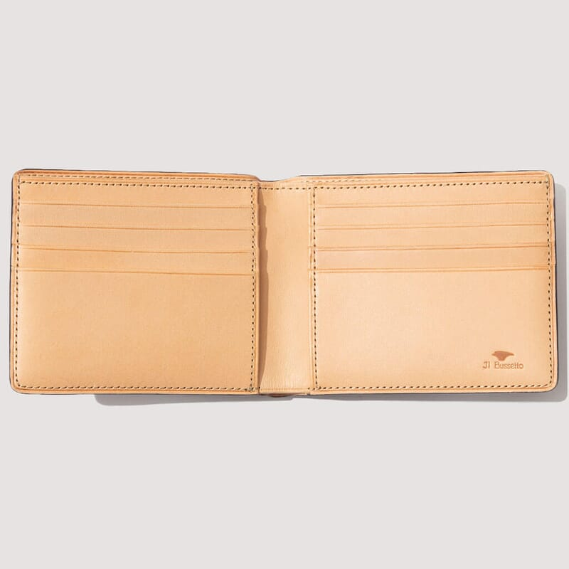 <Regular Bi-Fold Wallet - Dark Brown (2)