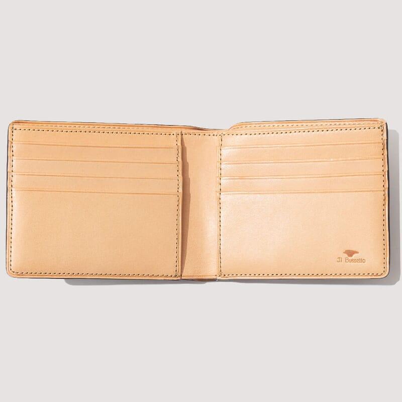 <Regular Bi-Fold Wallet - Navy (3)