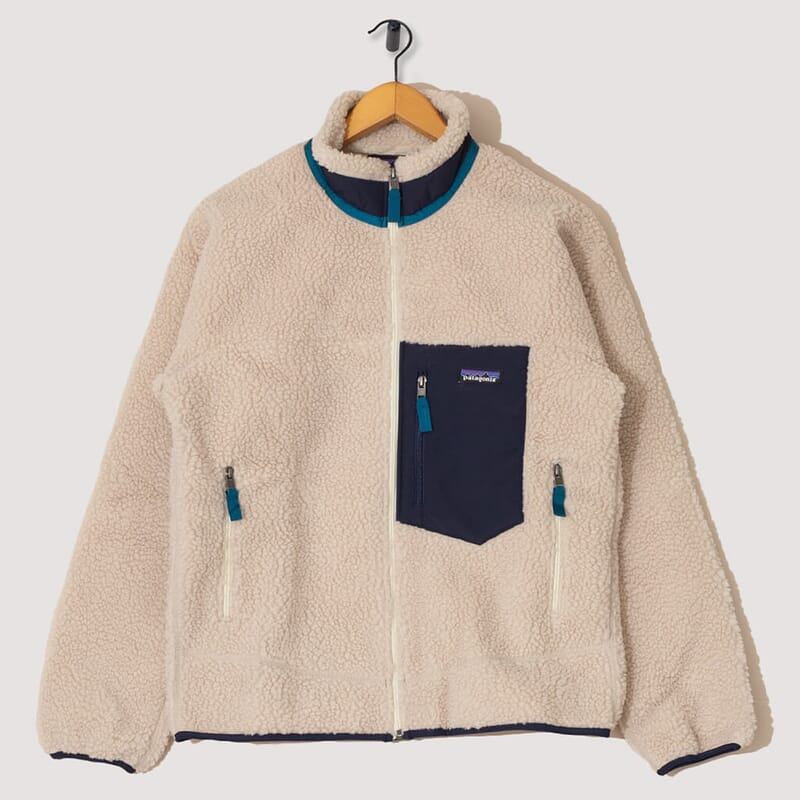 Retro-X Fleece - Natural / Navy