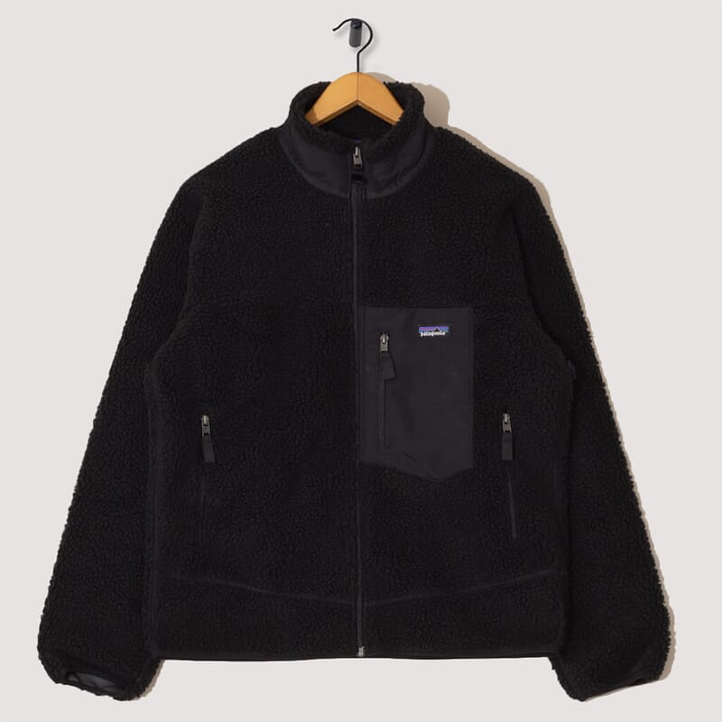 Retro-X Fleece Jacket - Black