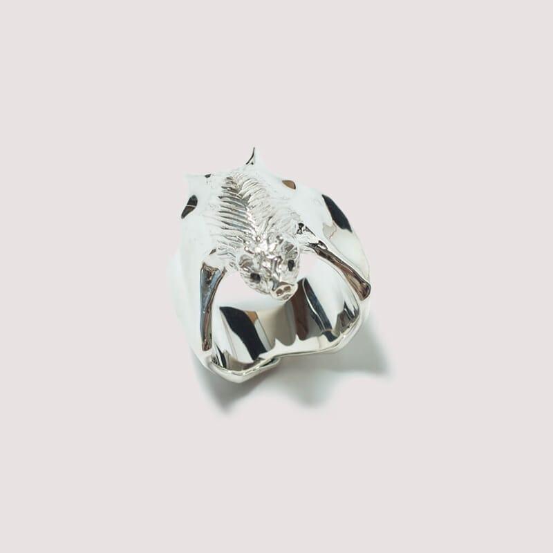 Ring - Silver (Bat)