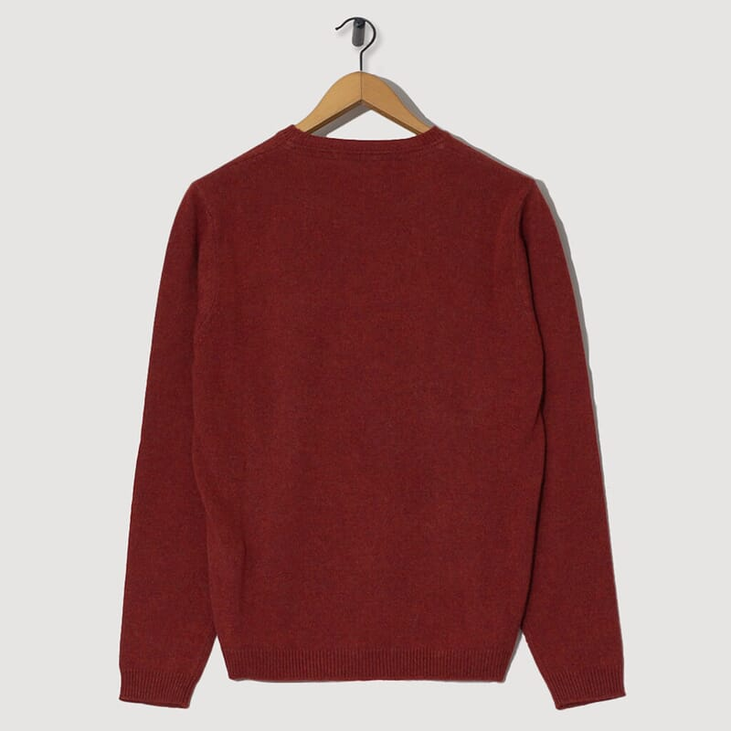 <Sigfred Lambswool - Carmine Red