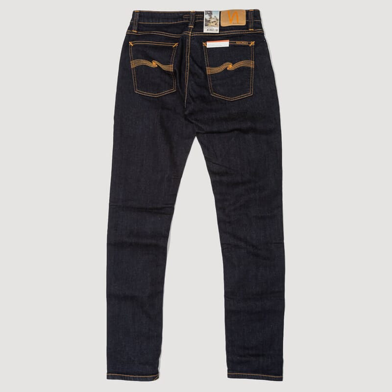 <Skinny Lin Jeans - Dry Deep Orange