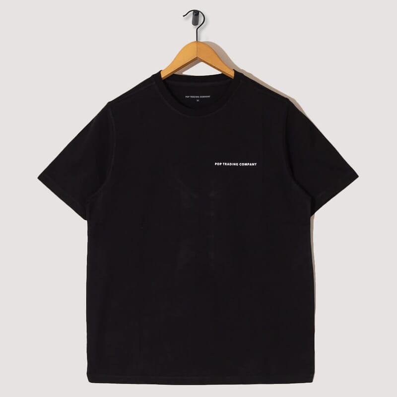 S/S Logo T-Shirt - Black / White