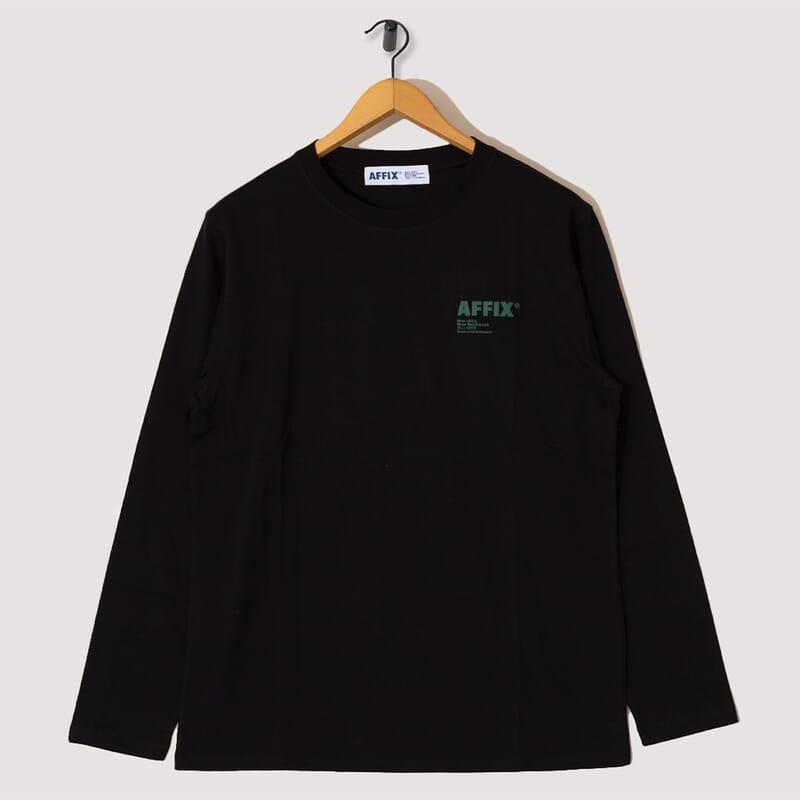 Standardised Logo Long Sleeve T-Shirt - Black