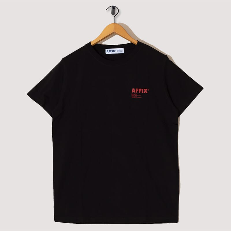 Standardised Logo T-Shirt - Black