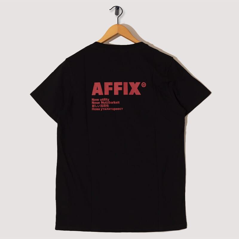<Standardised Logo T-Shirt - Black