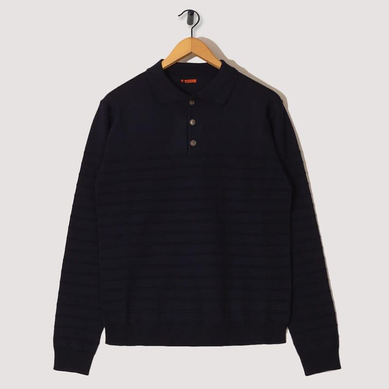 Sweater Gabier Bordado - Navy