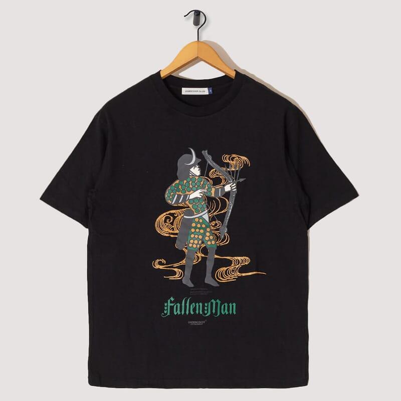Fallen Man T-Shirt - Black