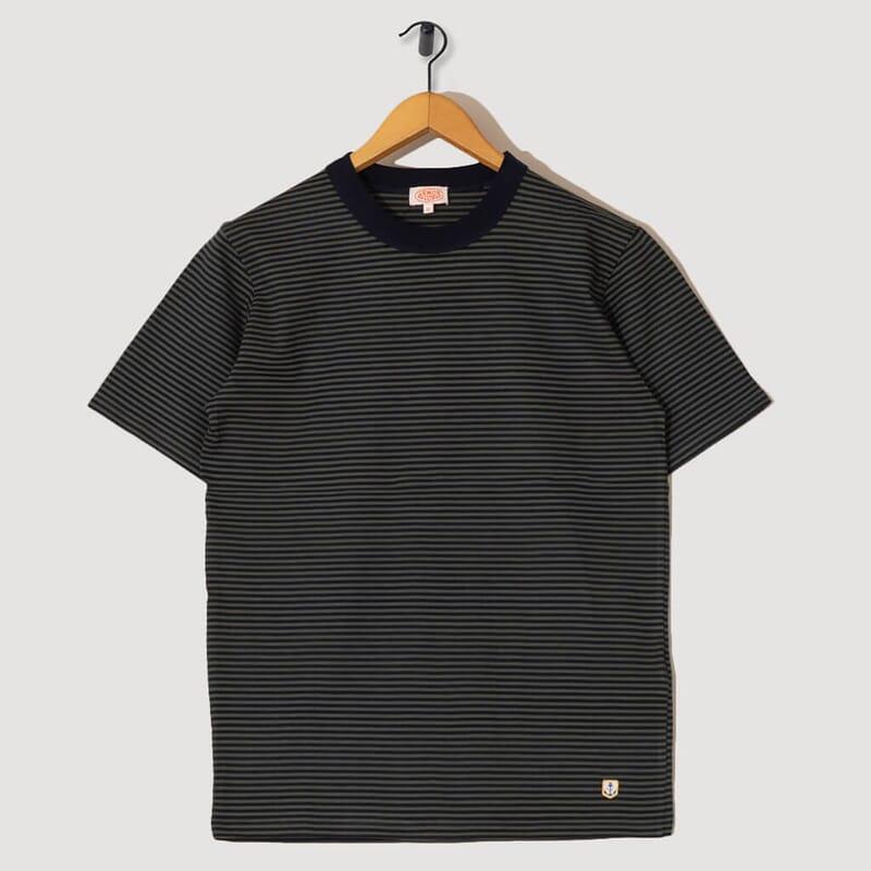 T-Shirt Mc Raye Heritage - FWB Rich Navy / Epicea Dark Green