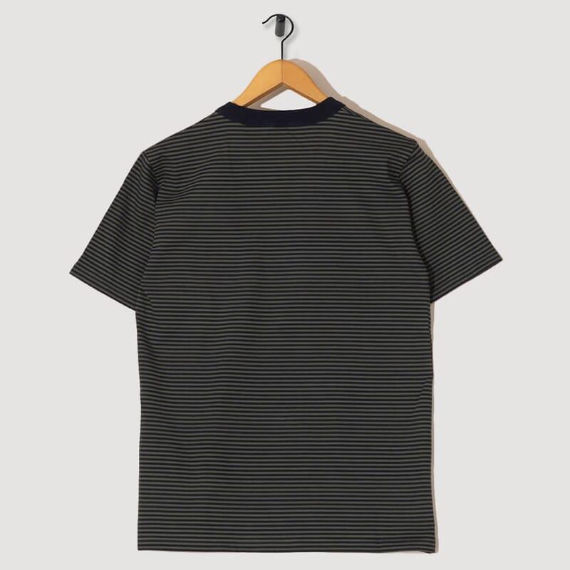 <T-Shirt Mc Raye Heritage - FWB Rich Navy / Epicea Dark Green