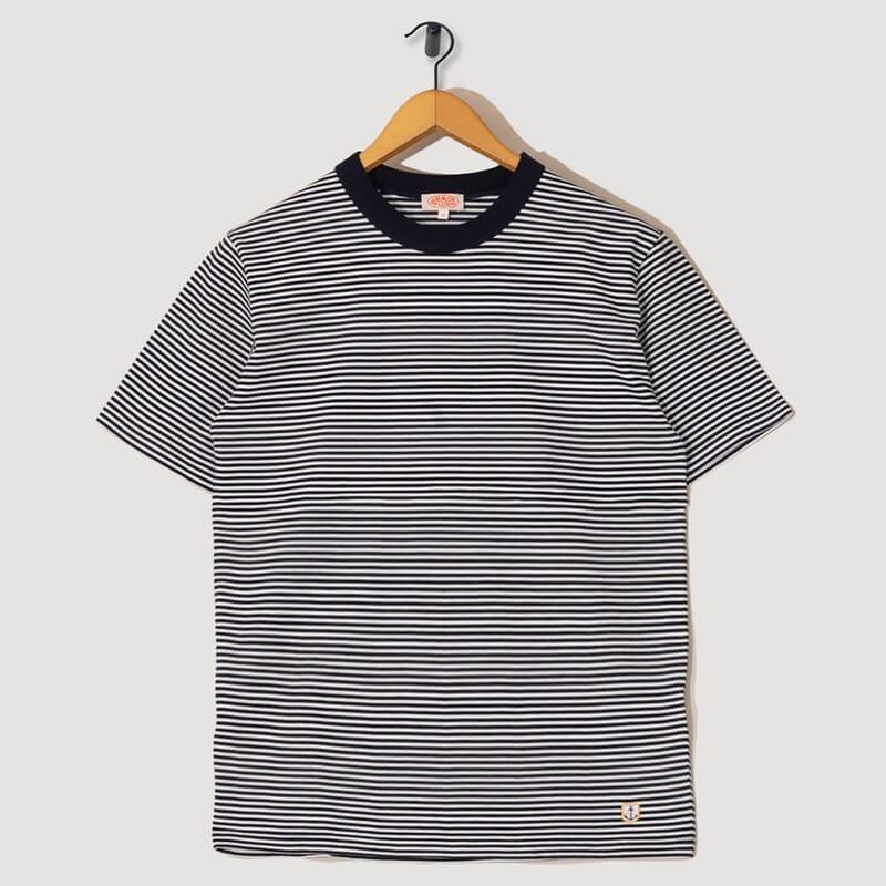 T-Shirt Mc Raye Heritage - Rich Navy / Milk