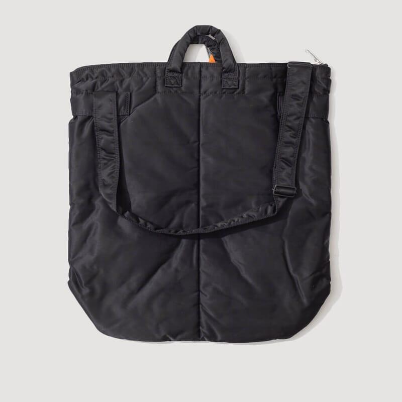<Tanker 2 Way Helmet Bag - Black