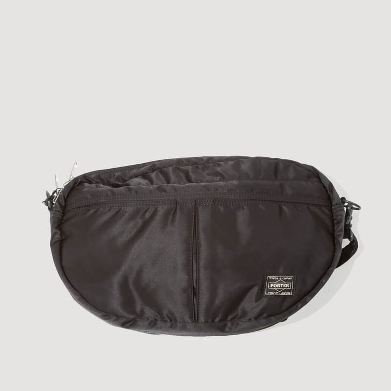Tanker Shoulder Bag Nylon Half Moon - Black