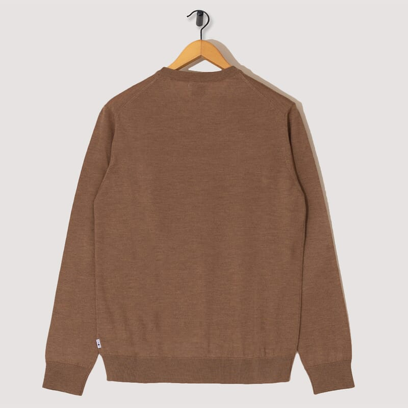 <Ted Knit - Brown