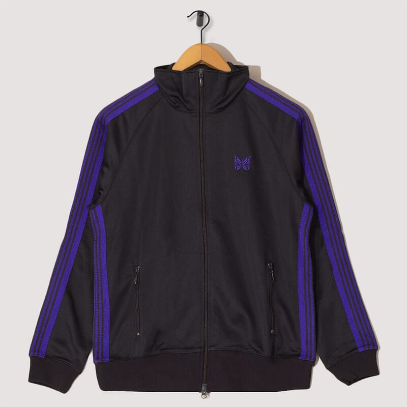 Track Jacket Poly - Charcoal