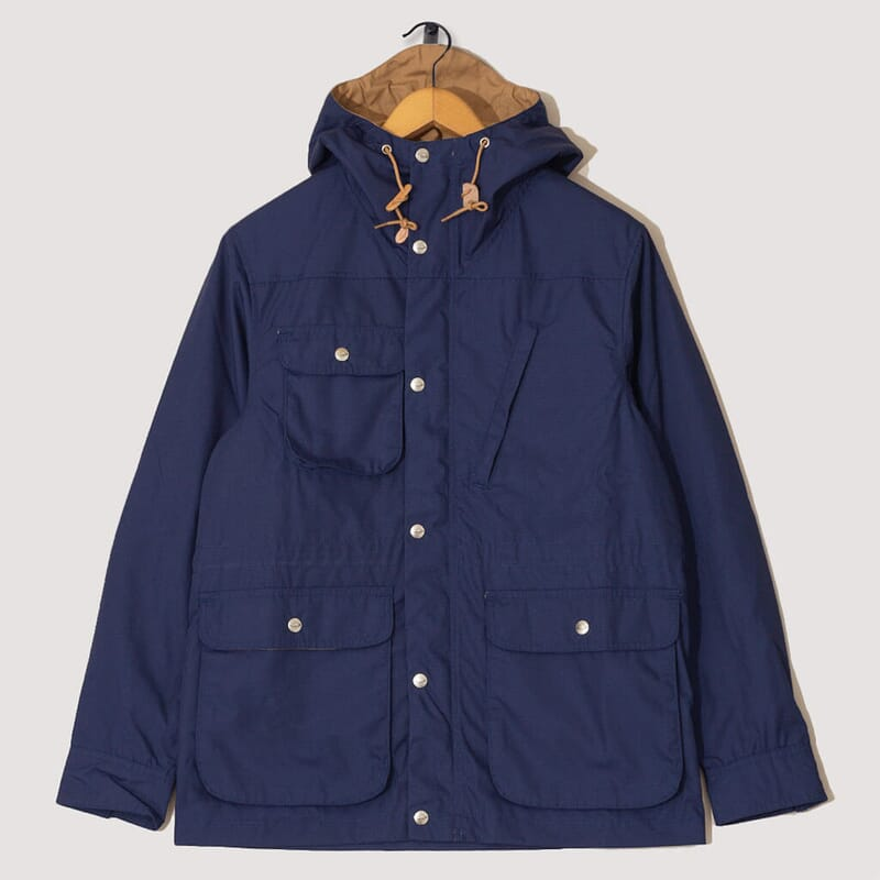 Travel Shell Parka - Navy/Khaki