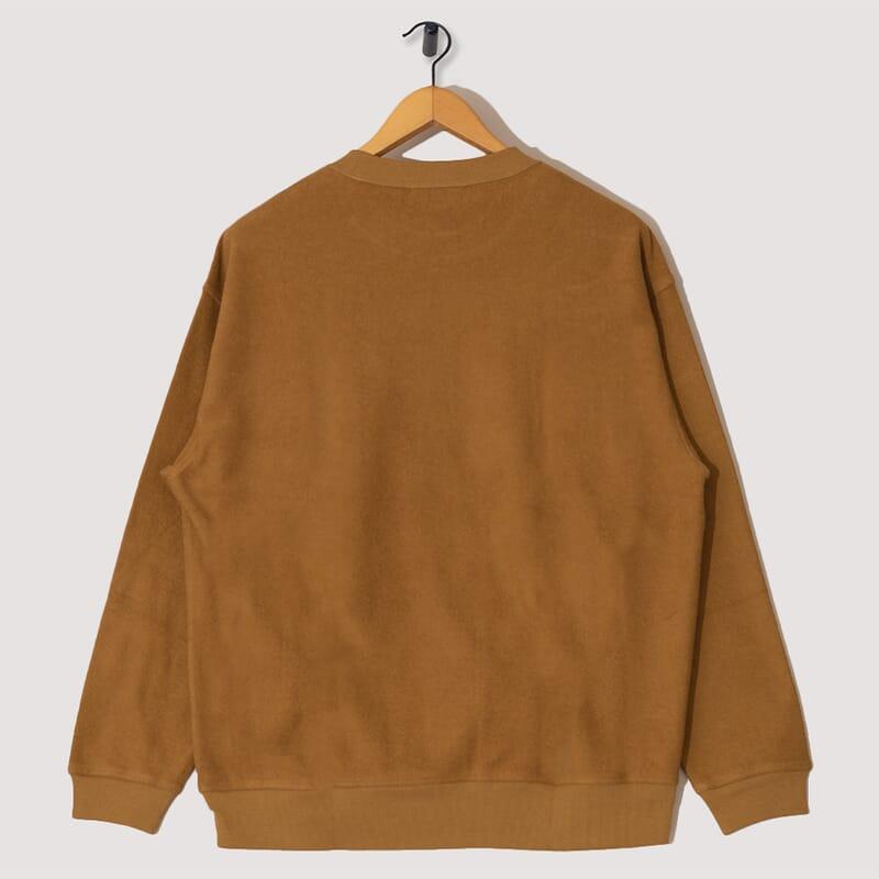 <Triple Long Sleeve Top - Brown