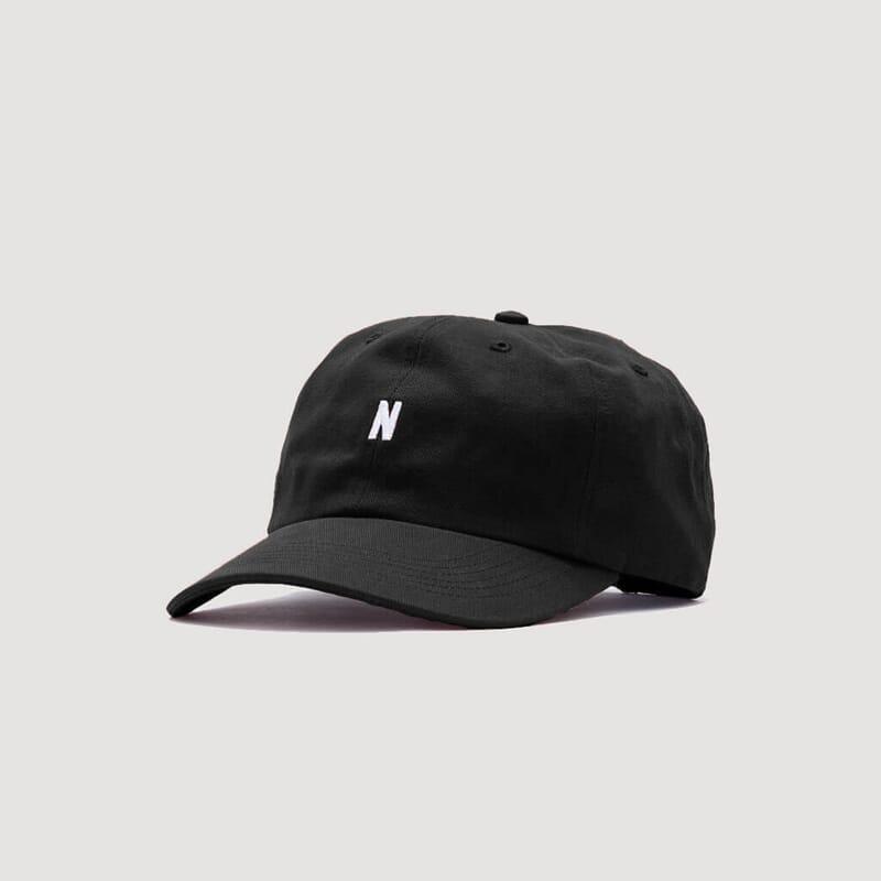 Twill Sports Cap - Black