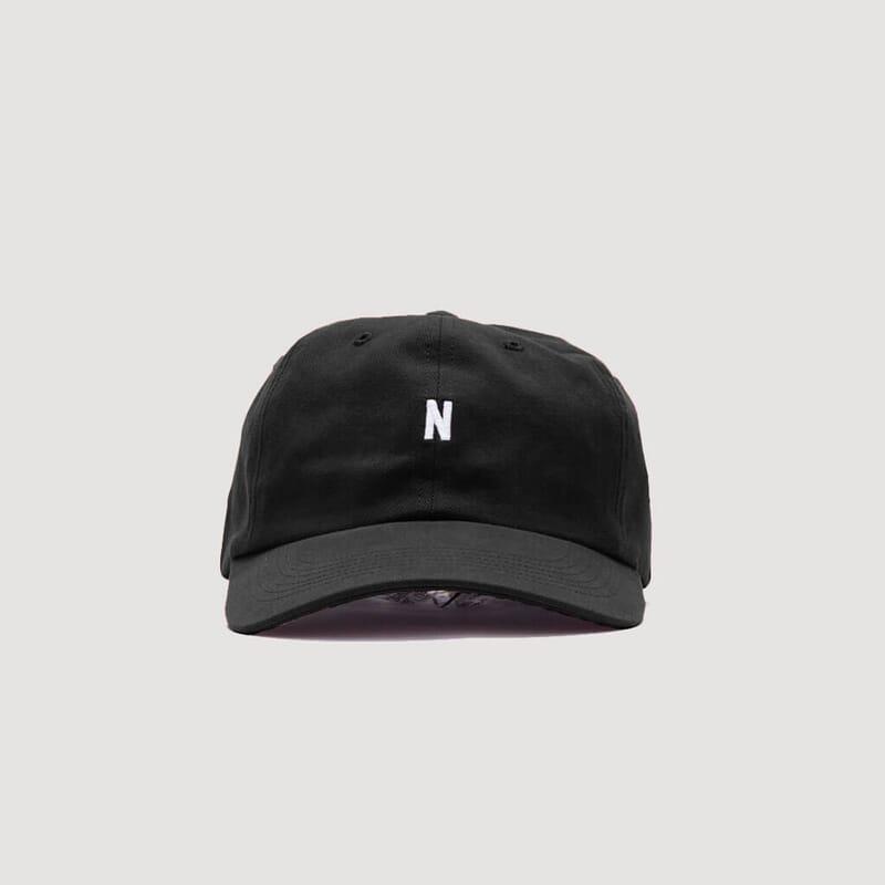 <Twill Sports Cap - Black