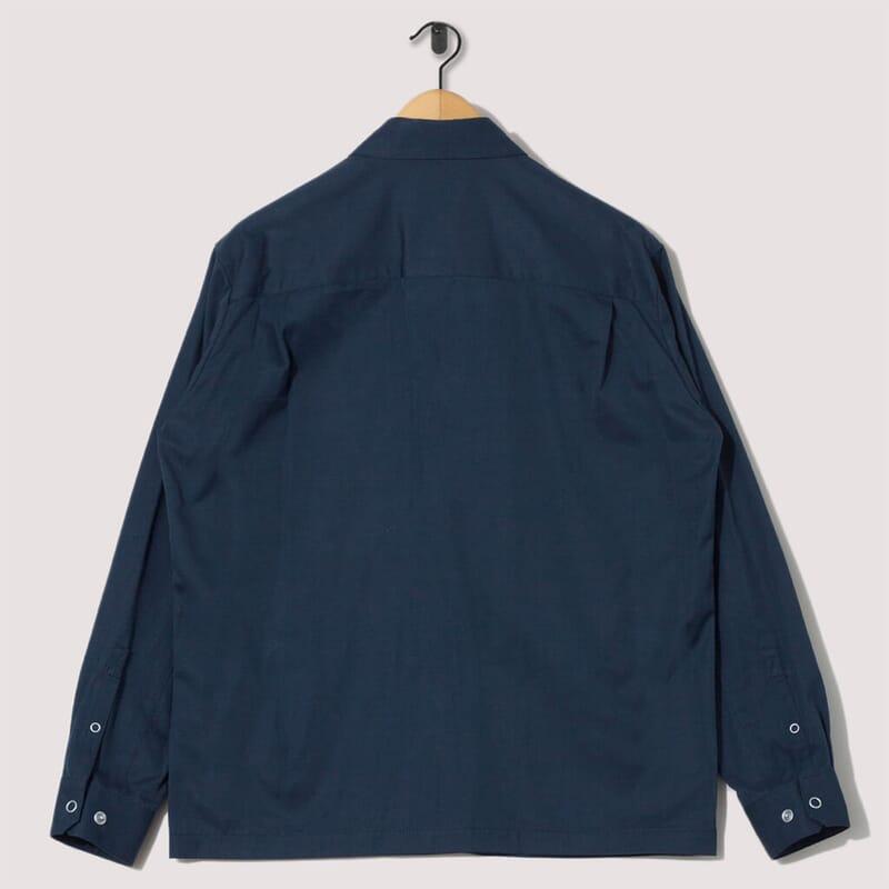 <Utility Shirt - Navy