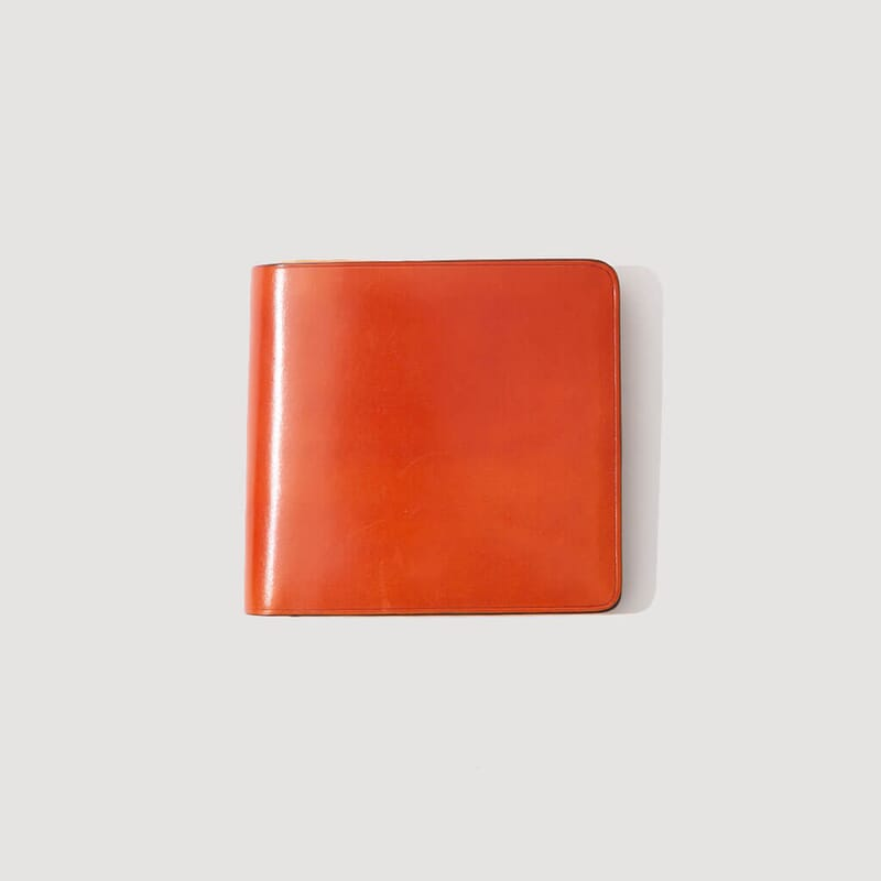 Wallet with Coin Pouch - Orange