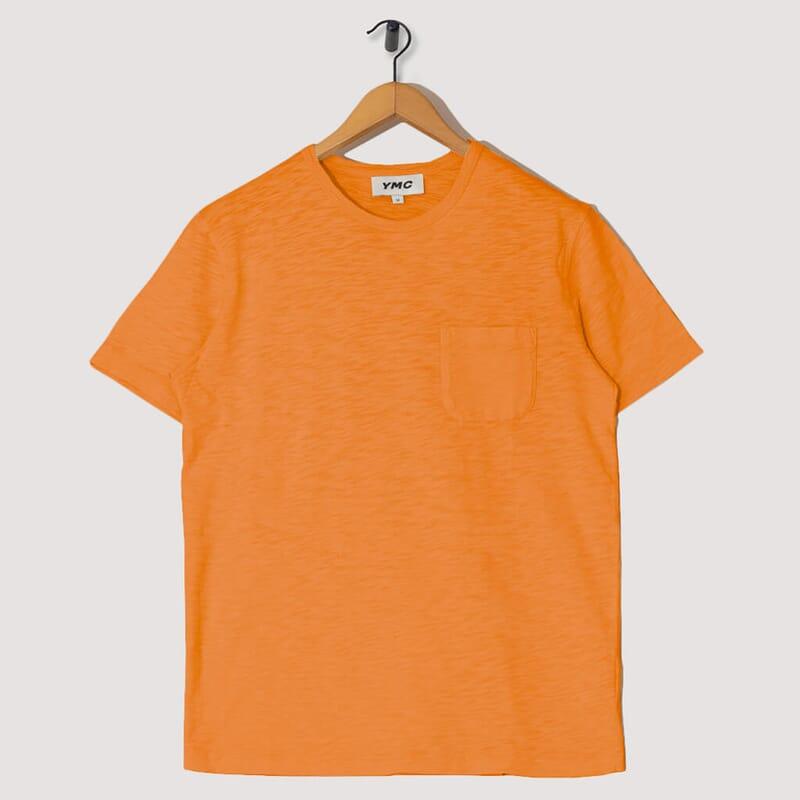 Wild Ones Pocket Tee - Orange