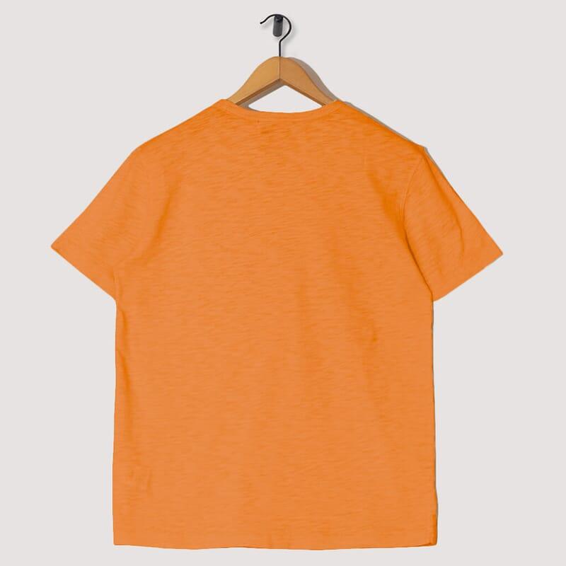 <Wild Ones Pocket Tee - Orange