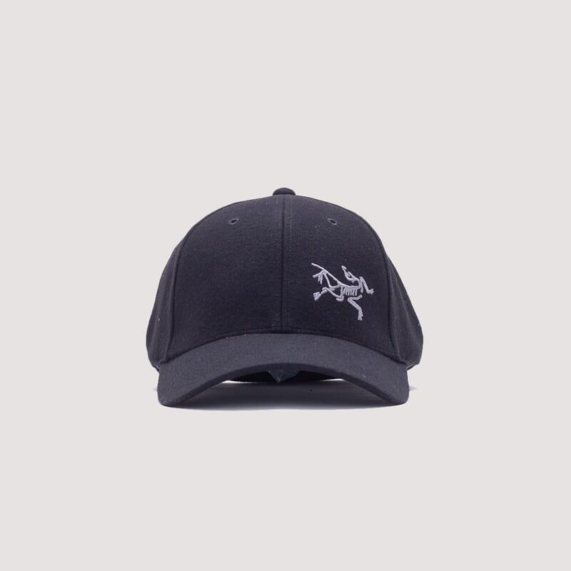 <Wool Ball Cap - Black Heather