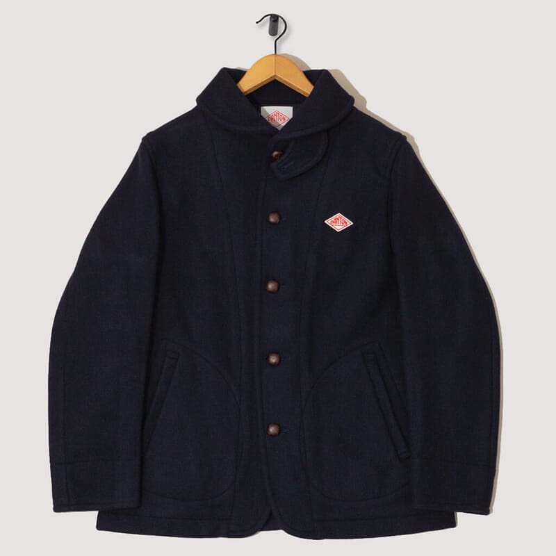Wool Mossa Jacket - Navy