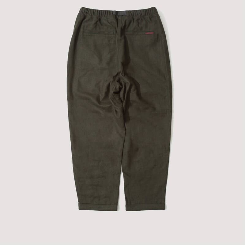 <Wool Tapered Pant - Olive